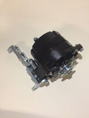 Alternator-Black-1-One-Wire-6-Volt-Positive-Ground-60-Amp-Bracket-3-8-034-Pulley