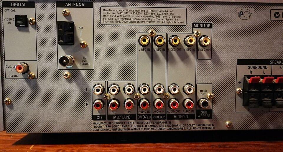 Receiver, Sony, STR-DE485E