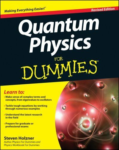 1 of 1 - Quantum Physics For Dummies by Steven Holzner (Paperback, 2013)