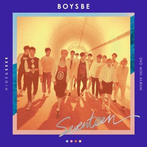 SEVENTEEN-[BOYS BE] 2nd Mini Album SEEK CD+Photo Book+Map+Card+etc+Store Gift