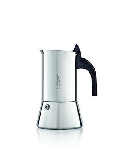 Bialetti Venus 2 Cup Stainless Steel Espresso Maker