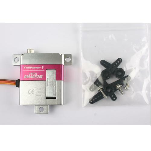 Servo Digitale FullPower DM4082M 8,2kg 0,12sec servo alare cassa metallo gear
