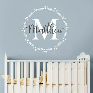 Personalised-Mural-Boy-Name-Nursery-Children-Bedroom-Wall-Sticker-Wall-Decal