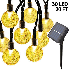 Solar-String-Light-Outdoor-30-LED-Powered-Garden-Path-Yard-Decor-Lamp-Waterproof