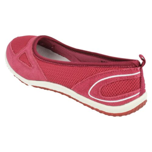 LADIES WOMENS DOWN TO EARTH F80210 SLIP ON SUMMER CASUAL FLATS SHOES