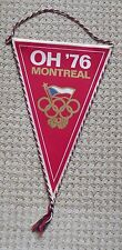 1976 Montreal Olympic Games Czecholsovak Olympic Comittee COV Pennant Flag