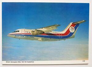 Dan-Air-BAe-146-100-Postcard