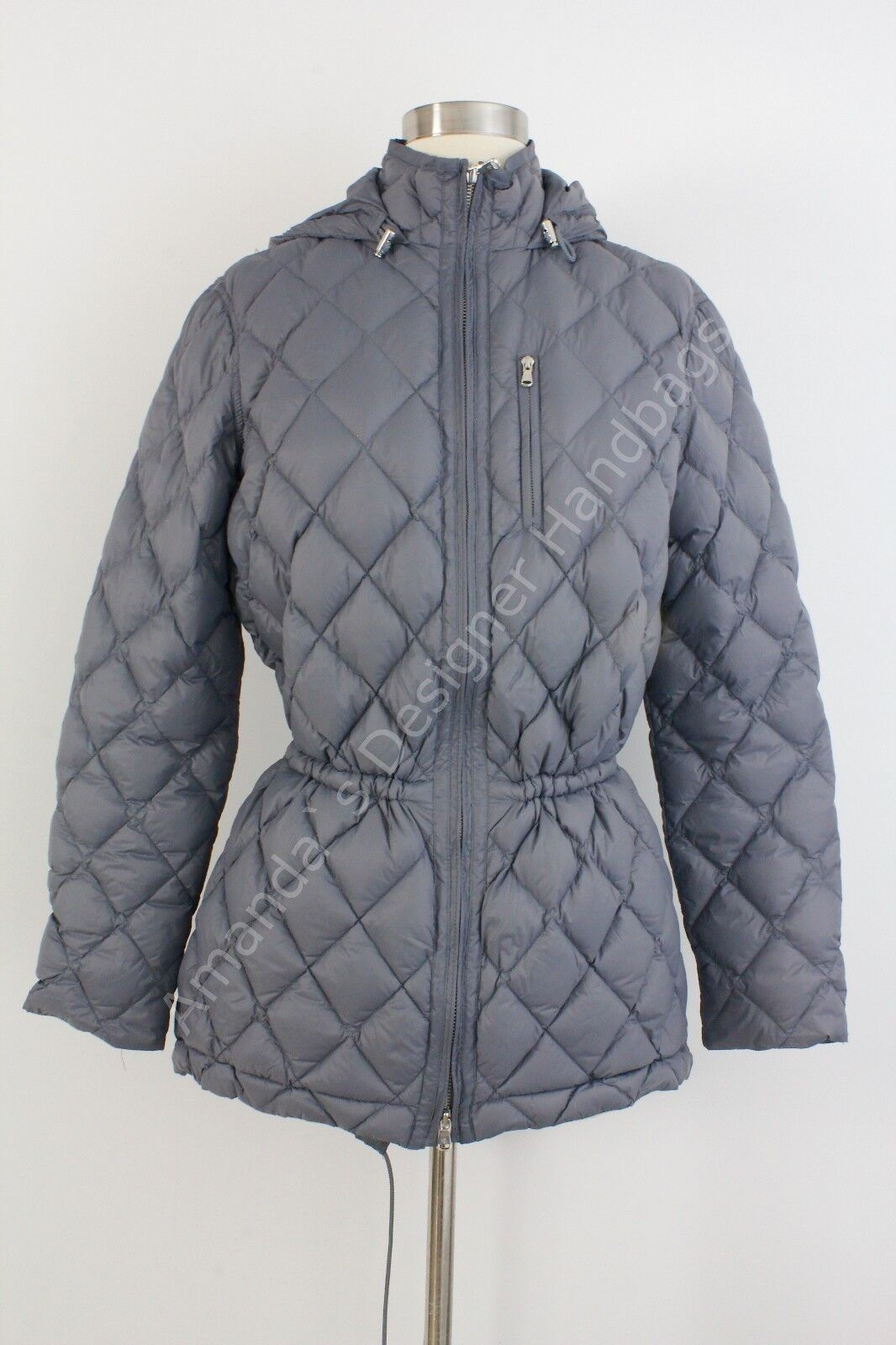 NWT RALPH LAUREN Womens Down Feather Fill Quilted Coat X-Small
