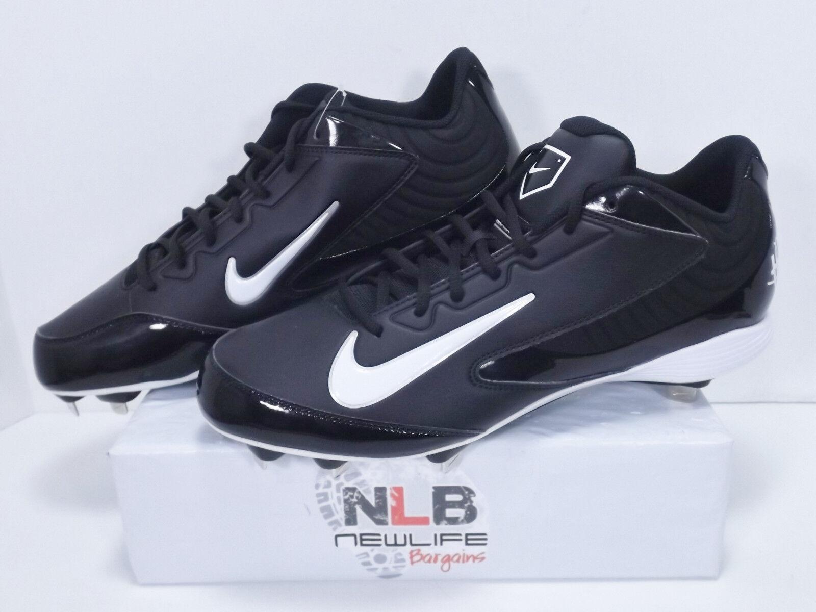 Nike Huarache Strike Low Metal 615963-010 Black/White Men's Comfortable Special limited time