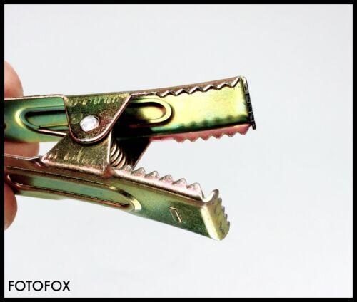20 X Paquete de pinzas de cocodrilo nuevo para filtro de iluminación Lee paquete de iluminación continua Studio