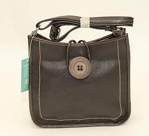 New-Zipped-Shoulder-Handbag-Large-Button-Design-Black-Tan-Red-Pink-Blue-Green