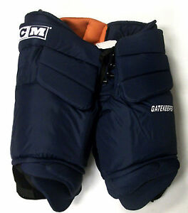 New Ccm Gatekeeper Pro Stock Ice Hockey Goalie Pants Navy Senior Xl