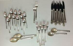 32-Piece-Eternally-Yours-Flatware-1847-Rogers-IS-International-Silver-MIXED-LOT