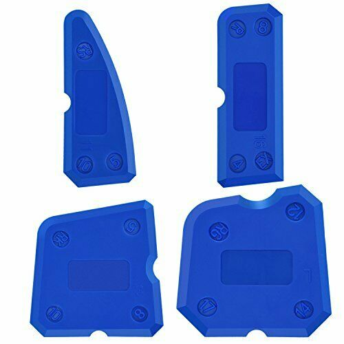 4 Piece Silicone Shipwrights Tool Kit Silicone Sealant Seals for
