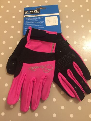 Dare 2b Womens Seize Pink Cycling Gloves Large
