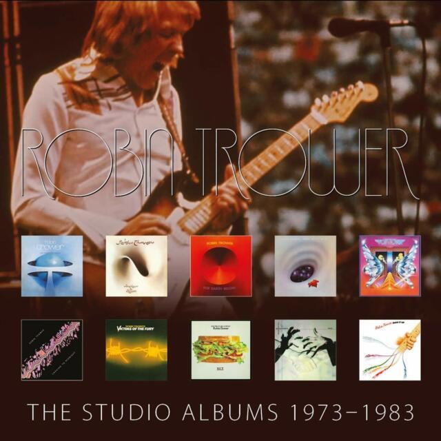 Robin Trower-die Studioalben 1973-1983 [CD]