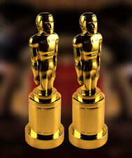 large 53in vinyl inflate inflatable movie grammy oscar statue trophy