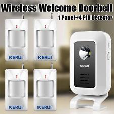 Welcome Chime Wireless Infrared IR Motion Sensor Door bell Alarm Entry Doorbell