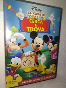 Dvd-la-casa-di-Topolino-Cerca-e-trova-walt-disney-Z3-A