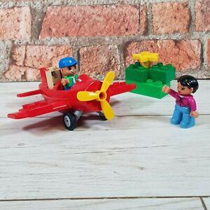 Lego-duplo-mon-premier-avion-Set-5592-rouge-avion-Children-039-s-Kids-Building-Toy