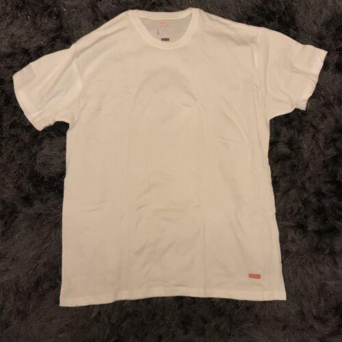 Supreme white t-shirt Box logo Small S