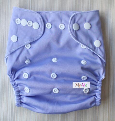 Baby One Size Plain Color Cloth Diaper Reusable Pocket Nappy Newborn Adjustable