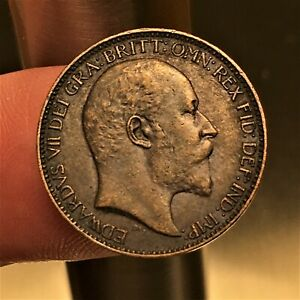 1903-Great-Britain-Farthing-Edward-VII-KM-792-AU