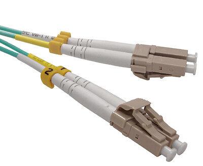 Fiber Patch Cord 6 Meter LC//LC Duplex Multimode 10G OM3 50//125-3515