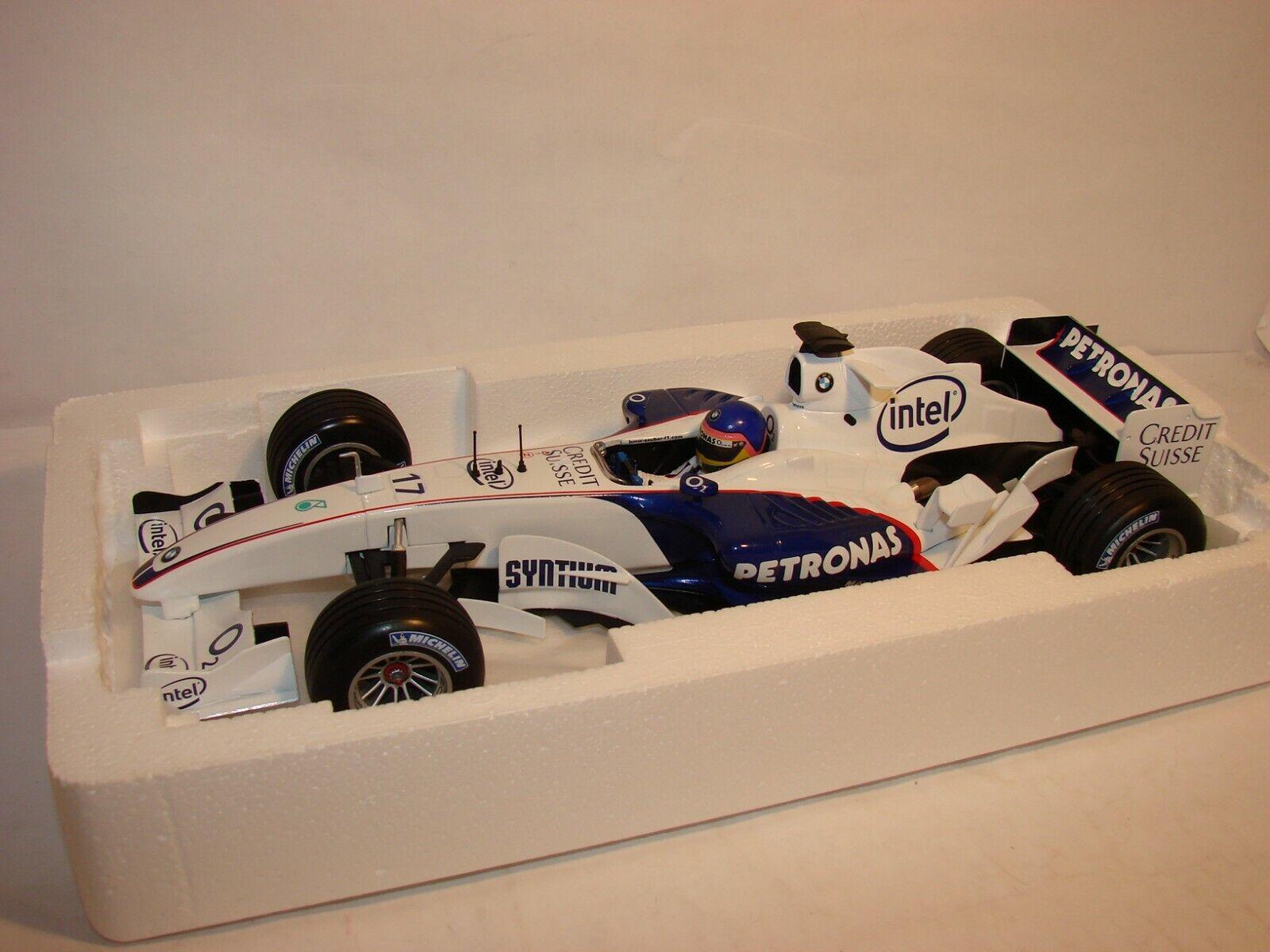 1 18 BMW Sauber, f1.06 jacques villeneuve, launch 2006, Minichamps en OVP