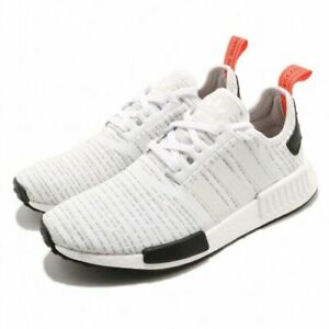 promo code 0e864 f54c4 Details about Men's Adidas NMD R1 BB9572 White/Red/Black Primeknit SZ 7-13  DS Boost USA PK