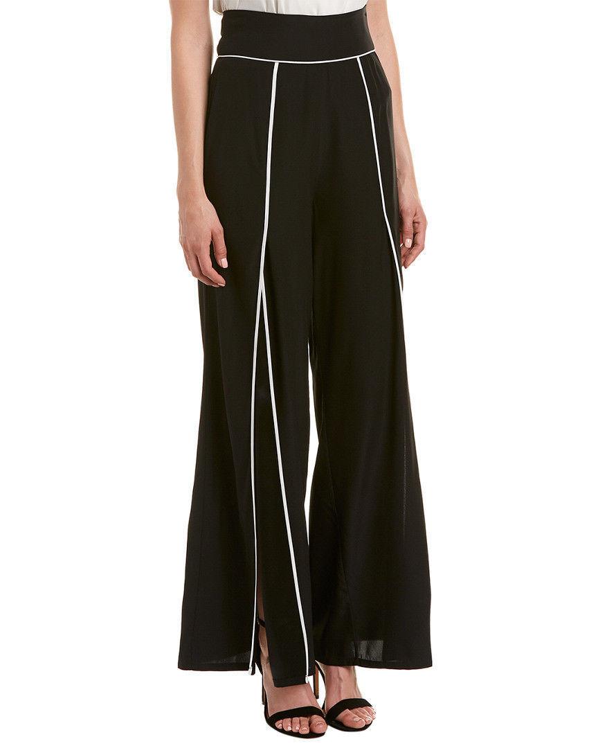 Nicole Miller damen Artelier Silk-Blend 92% silk, 8% elastane Pants Sz 8