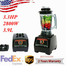 33hp 2800w Commercial Home Food Juicer High Speed Mixer Power Fruit Blender