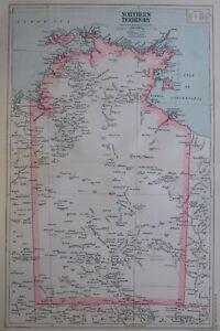 1919-MAP-AUSTRALIA-NORTHERN-TERRITORY-MELVILLE-ISLAND