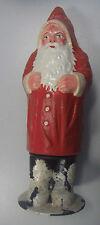 Candybox Weihnachtsmann sehr Alt! Pappmache 25 cm *zum befüllen mit Süßigkeiten