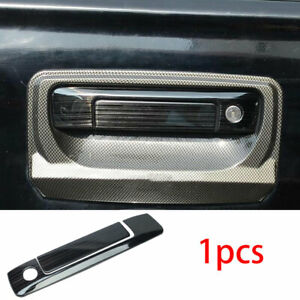 For 2015 2020 Ford Ranger Black Titanium Back Door Tailgate Handle Cover Trim Ebay