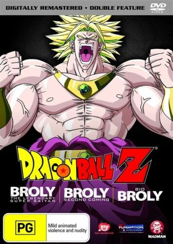 1 of 1 - Dragon Ball Z Remastered Movie Collection (Uncut) - Broly the Legendary Super S…