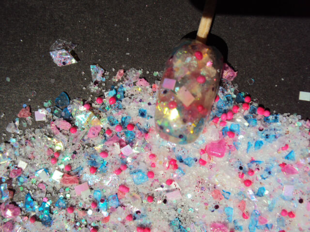 glitter mixes acrylic gel nail art   GUMBALL MACHINE