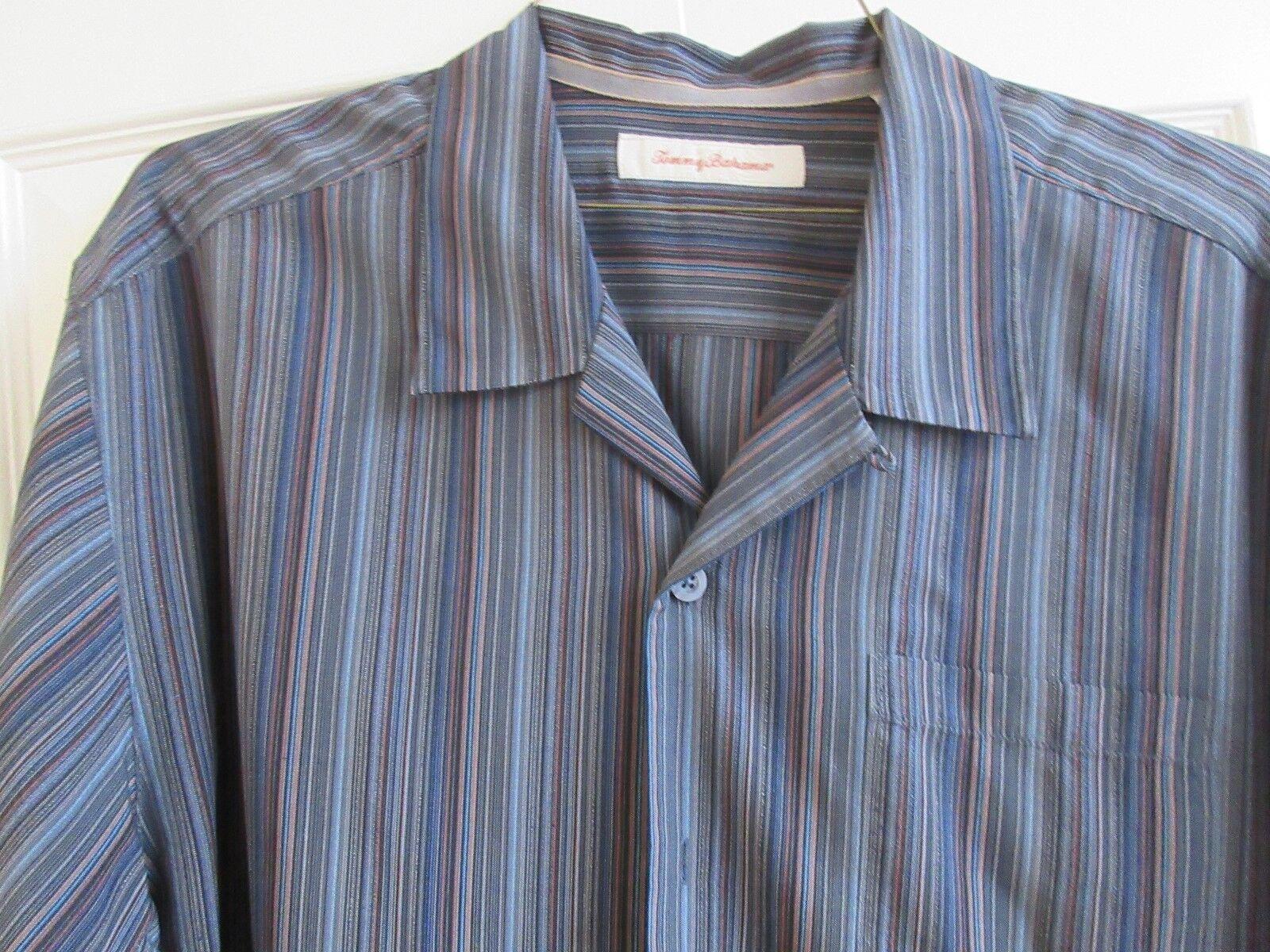 Tommy Bahama , Men's Short Sleeve Shirt , XL/TG , 100 %