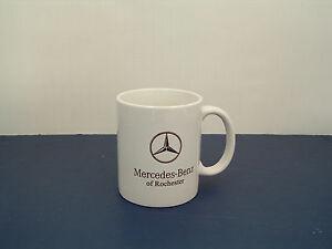 Mercedes benz of Rochester car logo white coffee cup mug ...