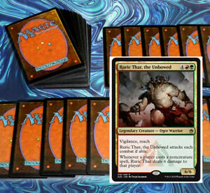 mtg-RED-GREEN-RURIC-THAR-GRUUL-COMMANDER-EDH-DECK-Magic-the-Gathering-rare-cards