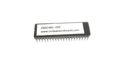 """D80C49C-028 D8049C NEW ROLAND JUNO 60 MASK ROM CPU /""""B/"""" NEC"""