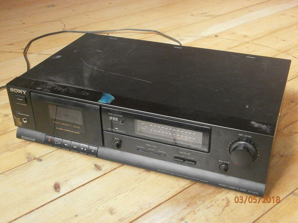 Båndoptager, Sony, TC-FX170