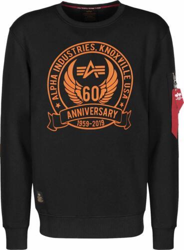 Alpha Industries Pullover Sweater Anniversary 198307 Crew Neck Sweat Jubiläum