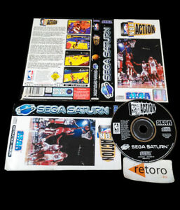 NBA-ACTION-Sega-Saturn-PAL-Completo-Sega-Sports