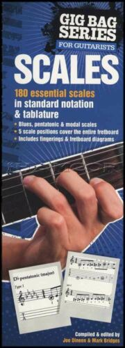 Gig Bag Series for Guitarists Scales for Guitar Scale TAB & Music Book 180