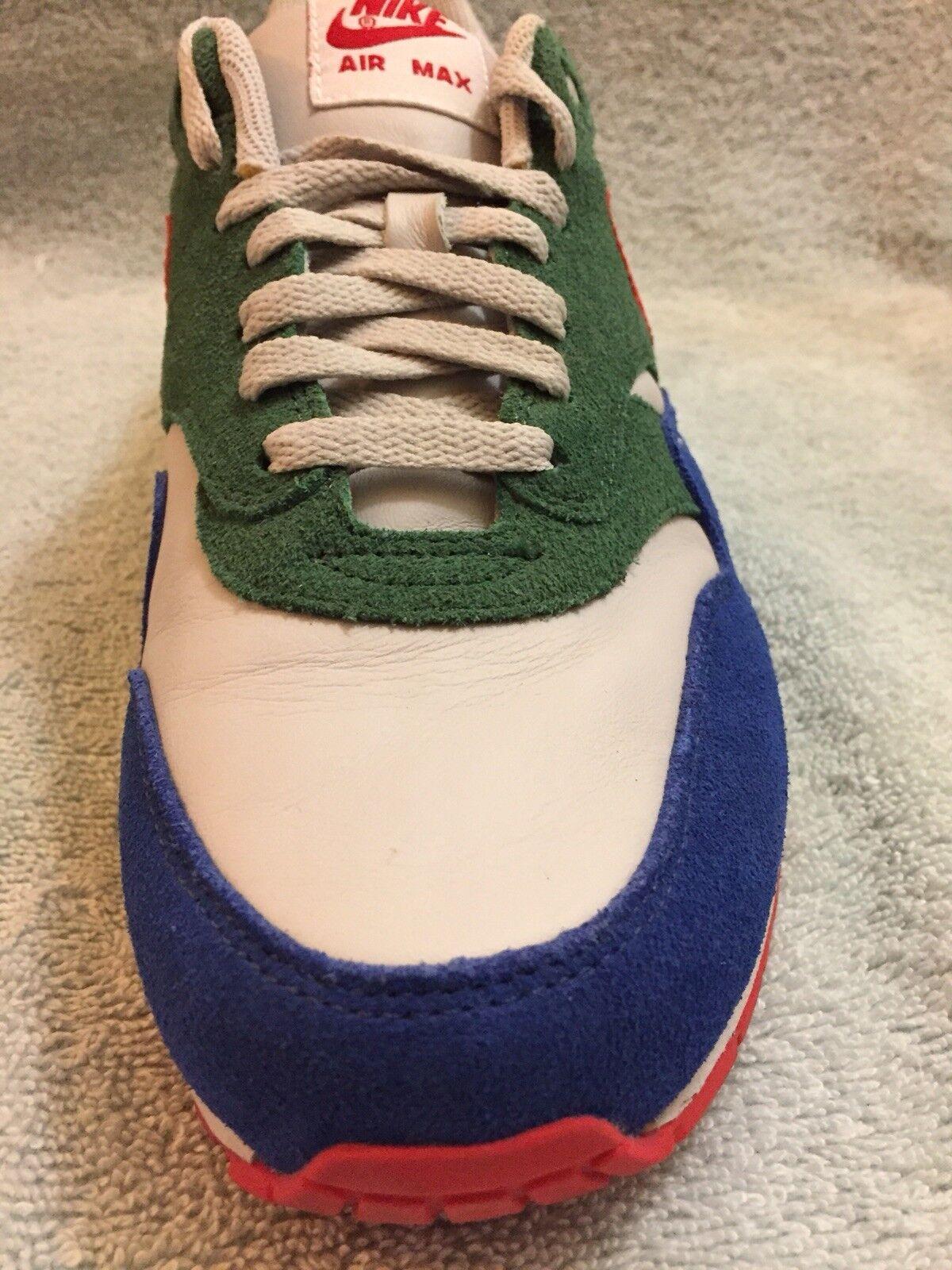 les 433213-998 nikeid air 4life max cpc 4life air rouge vert bleu - gris taille 10 suède yello 6d09f7