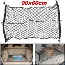 Car Trunk SUV Rear Cargo Organizer Storage Elastic Mesh Net Holder 4 Hooks Hot