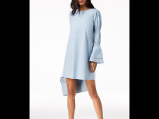 967ff75bdc item 4 Michael Michael Kors Tiered-Sleeve Dress Size L Color Light Chambray  -Michael Michael Kors Tiered-Sleeve Dress Size L Color Light Chambray
