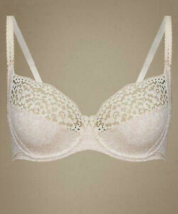 Marks /& Spencer vintage cotton rich non padded full cup bra 34E