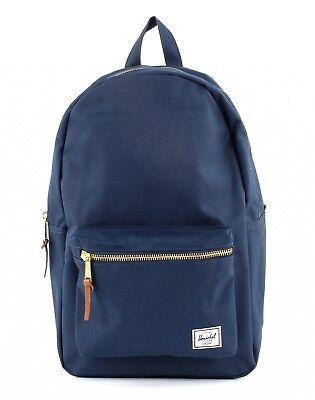 Herschel Settlement Backpack Borsa Zaino Tempo Libero Zaino Unisex Navy Blu-ck Unisex Navy Blau It-it